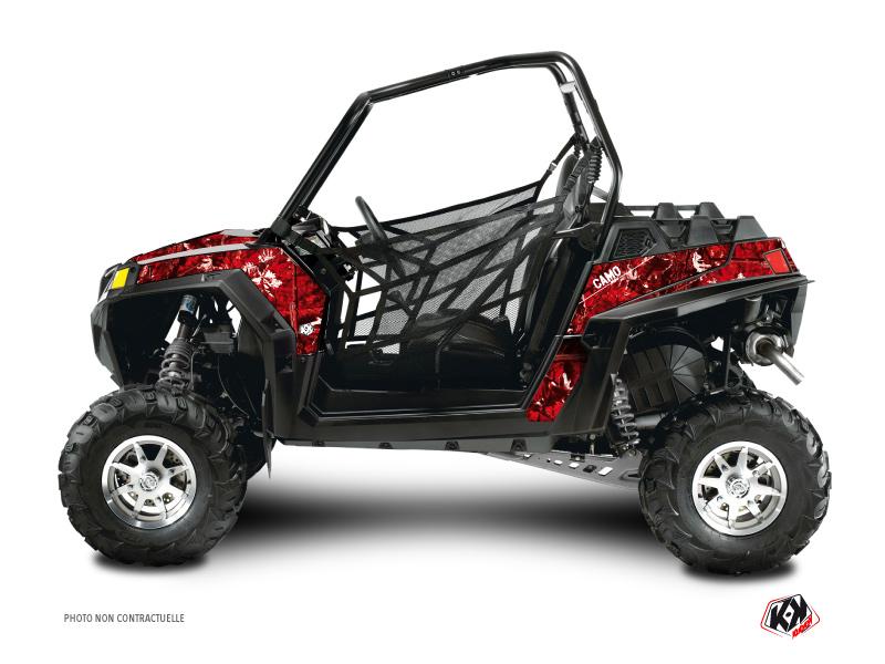 Polaris RZR 570 UTV Camo Graphic Kit Red
