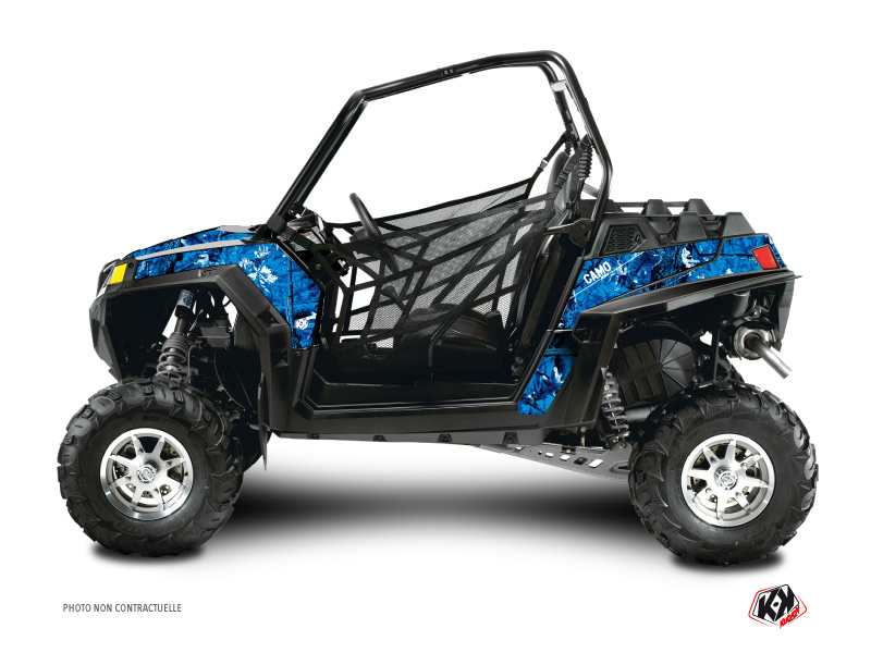 Kit Déco SSV Camo Polaris RZR 800 Bleu