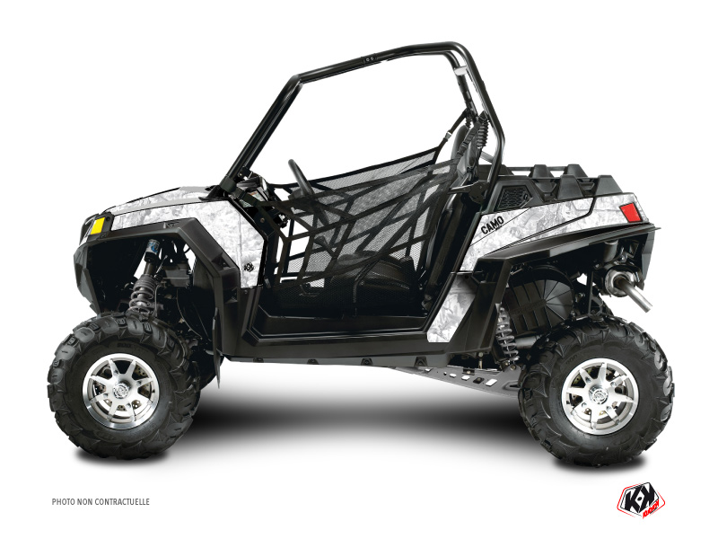 Polaris RZR 800 S UTV Camo Graphic Kit White