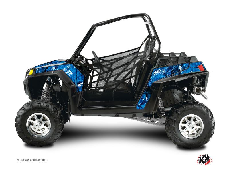 Polaris RZR 800 S UTV Camo Graphic Kit Blue