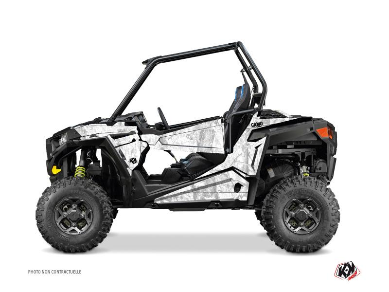 Polaris RZR 900 UTV Camo Graphic Kit White