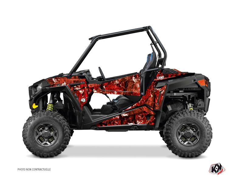 Polaris RZR 900 UTV Camo Graphic Kit Red