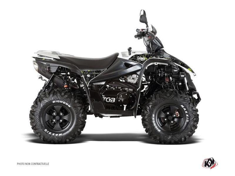 TGB Target ATV Camo Graphic Kit Black Green
