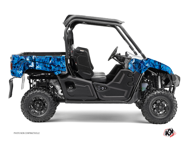 Yamaha Viking UTV Camo Graphic Kit Blue