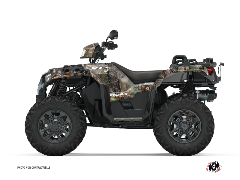 Polaris 1000 Sportsman XP S Forest ATV Camo Graphic Kit Colors