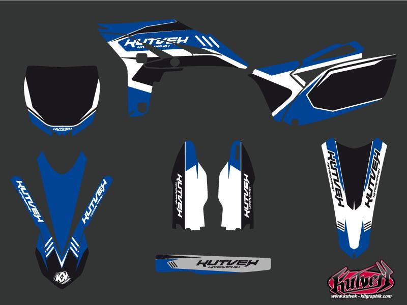 Yamaha 250 YZF Dirt Bike Chrono Graphic Kit