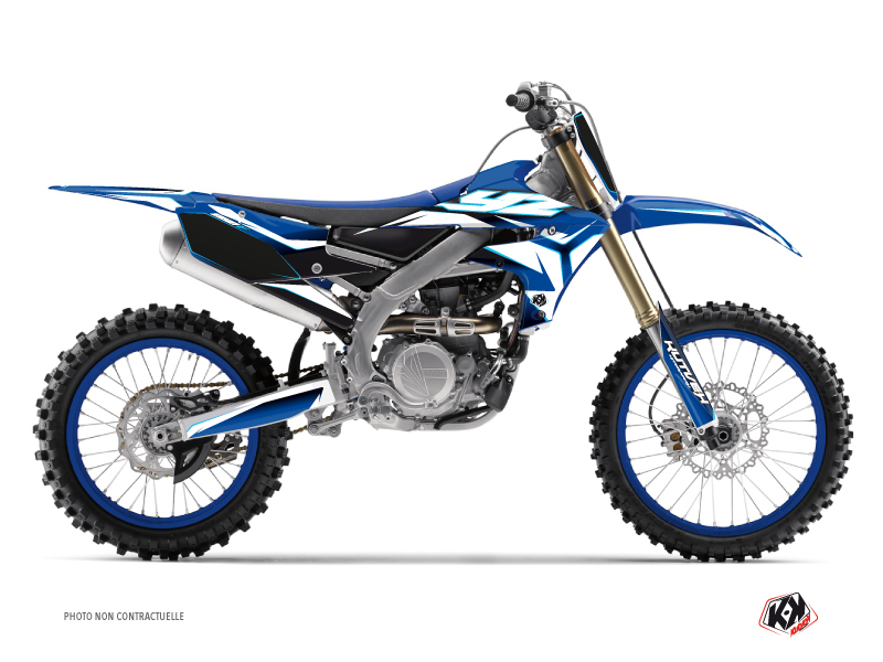 Yamaha 250 YZF Dirt Bike Concept Graphic Kit Blue
