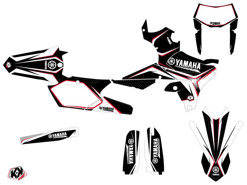 Kit Déco Moto Cross Concept Yamaha 450 WRF Rouge