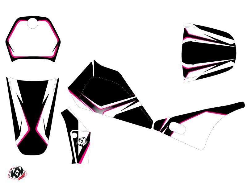 Yamaha PW 80 Dirt Bike Concept Graphic Kit Pink