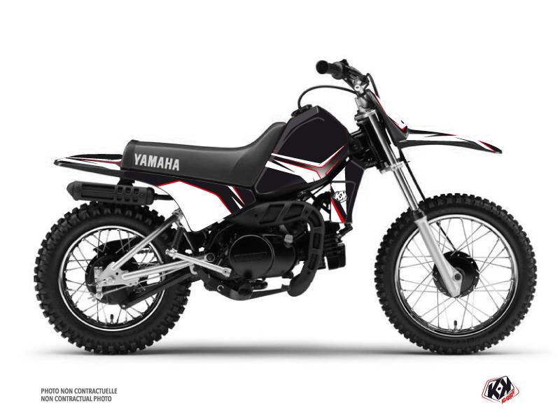 Kit Déco Moto Cross Concept Yamaha PW 80 Rouge