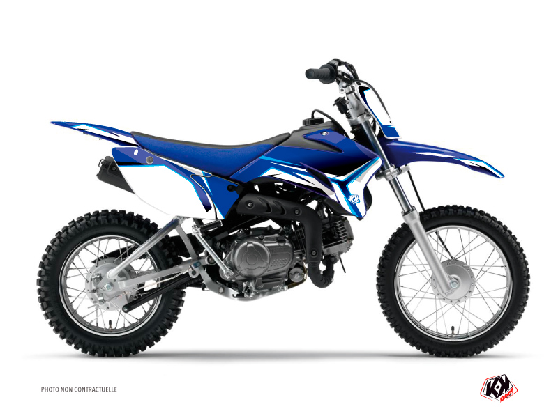 Yamaha TTR 110 Dirt Bike Concept Graphic Kit Blue