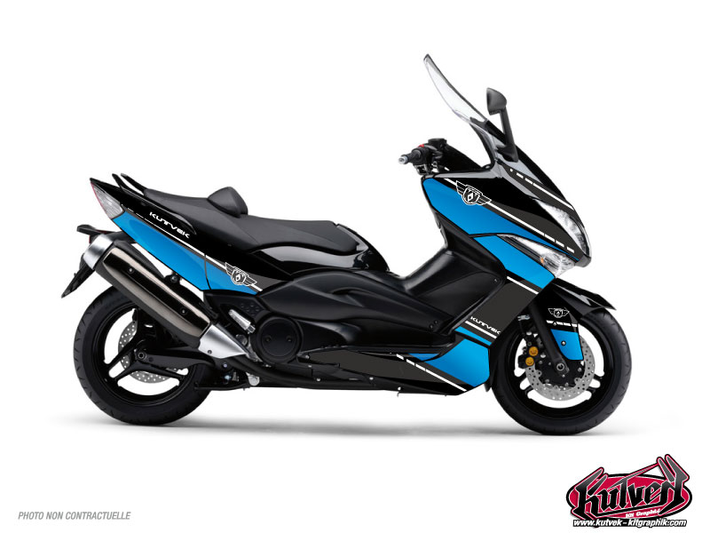 Yamaha TMAX 500 Maxiscooter Cooper Graphic Kit Blue