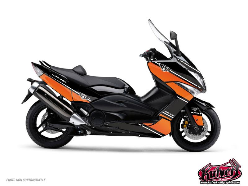 Yamaha TMAX 500 Maxiscooter Cooper Graphic Kit Orange