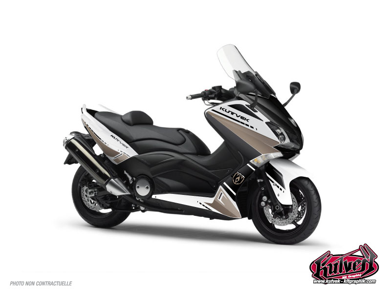 Kit Déco Maxiscooter Cooper Yamaha TMAX 530 Marron