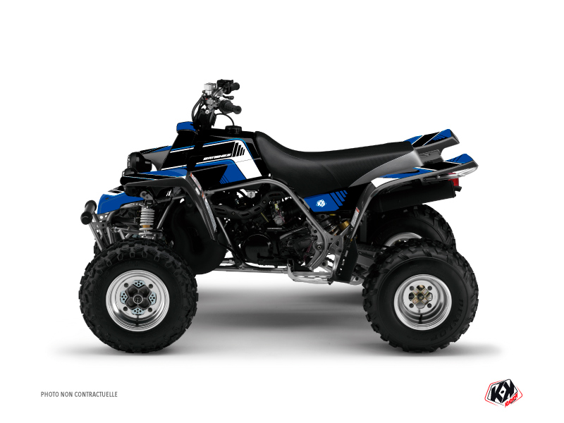 Yamaha Banshee ATV Corporate Graphic Kit Blue