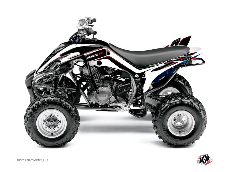 Yamaha 350 Raptor ATV Corporate Graphic Kit Black
