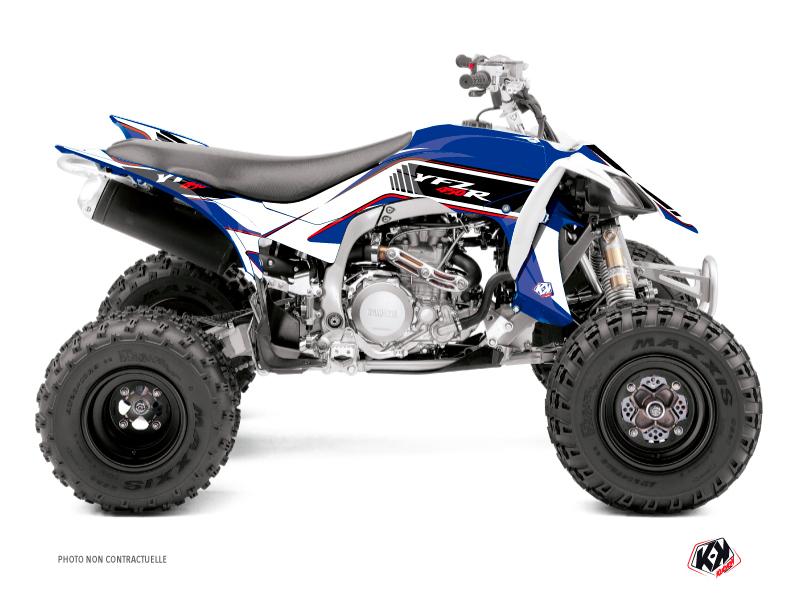 Yamaha 450 YFZ R ATV Corporate Graphic Kit Blue