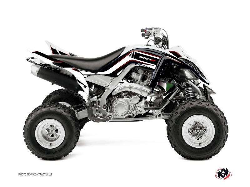 Yamaha 660 Raptor ATV Corporate Graphic Kit Black