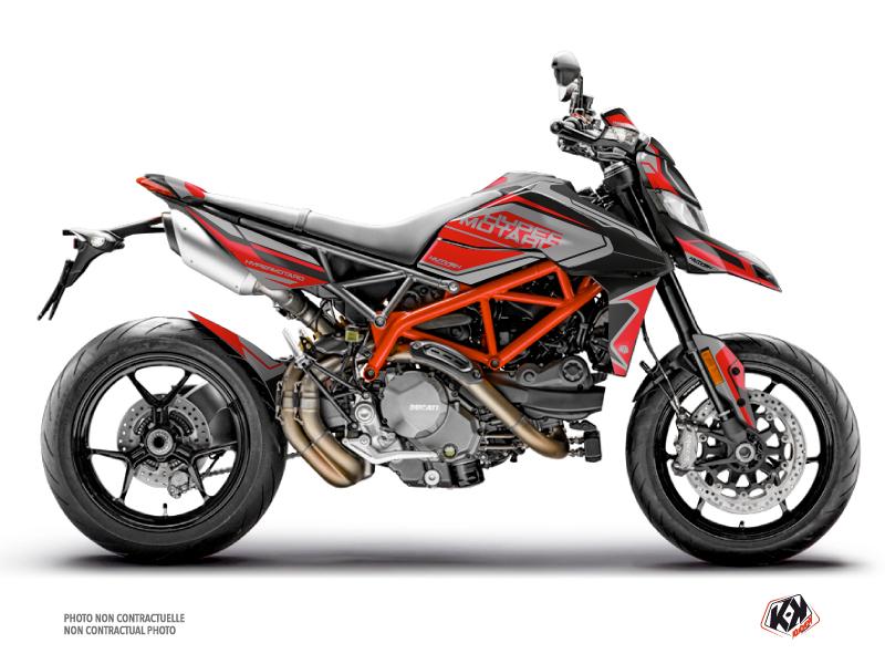 Kit Déco Moto Corsa Ducati Hypermotard Noir