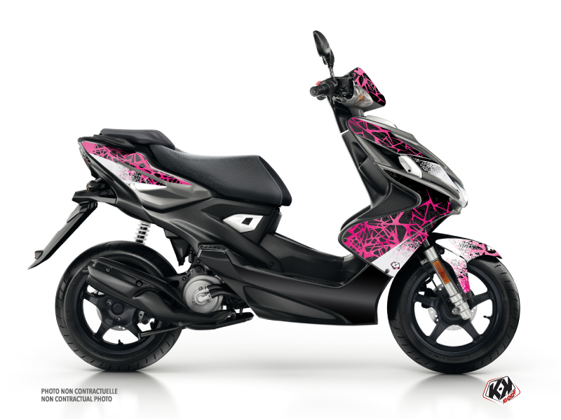 MBK Nitro Scooter Cosmic Graphic Kit Pink