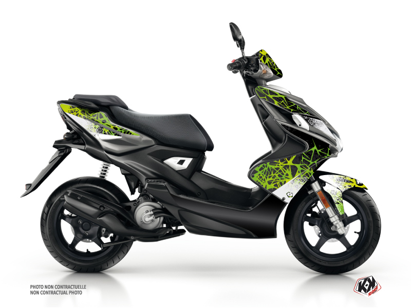 MBK Nitro Scooter Cosmic Graphic Kit Green