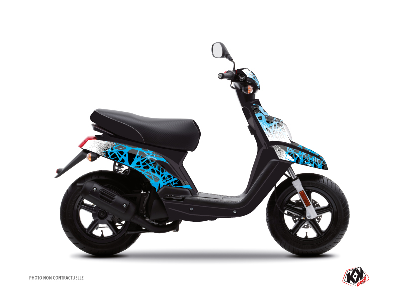 Kit Déco Scooter Cosmic MBK Booster Bleu