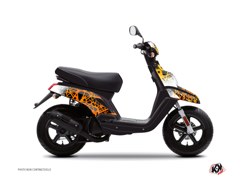 Kit Déco Scooter Cosmic MBK Booster Orange