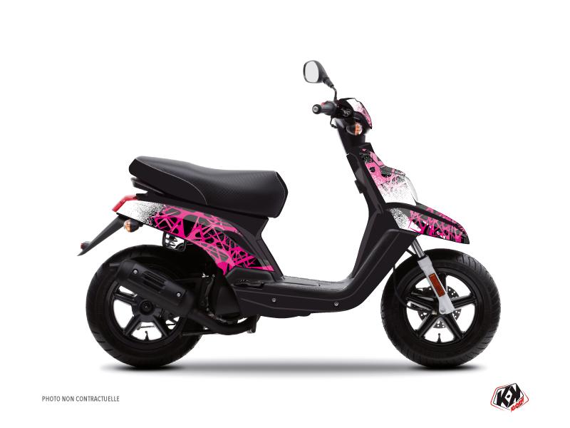 Yamaha BWS Scooter Cosmic Graphic Kit Pink