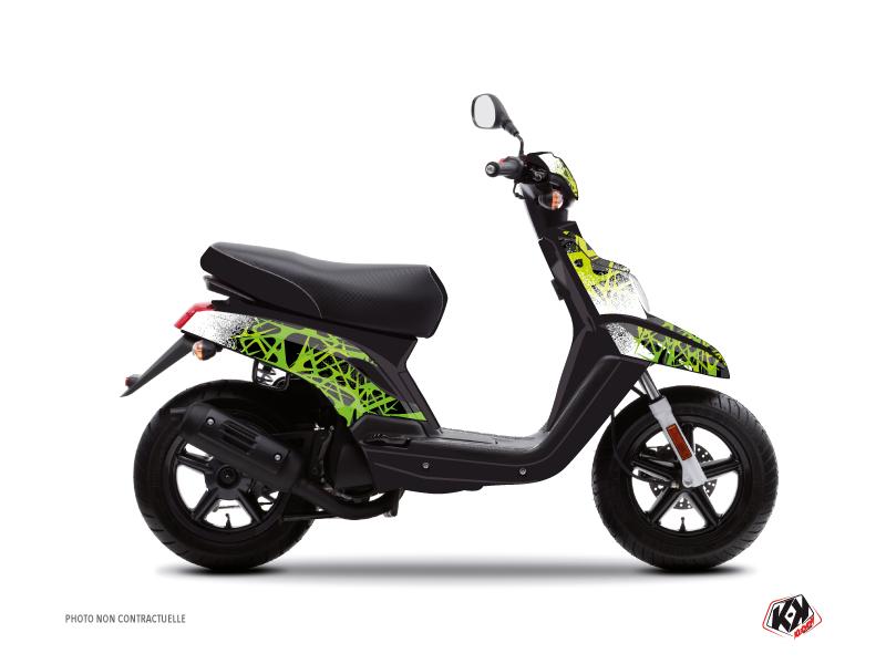 Yamaha BWS Scooter Cosmic Graphic Kit Green