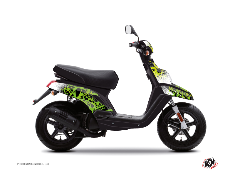 MBK Booster Scooter Cosmic Graphic Kit Green