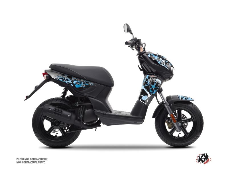 Yamaha Slider Scooter Cosmic Graphic Kit Blue