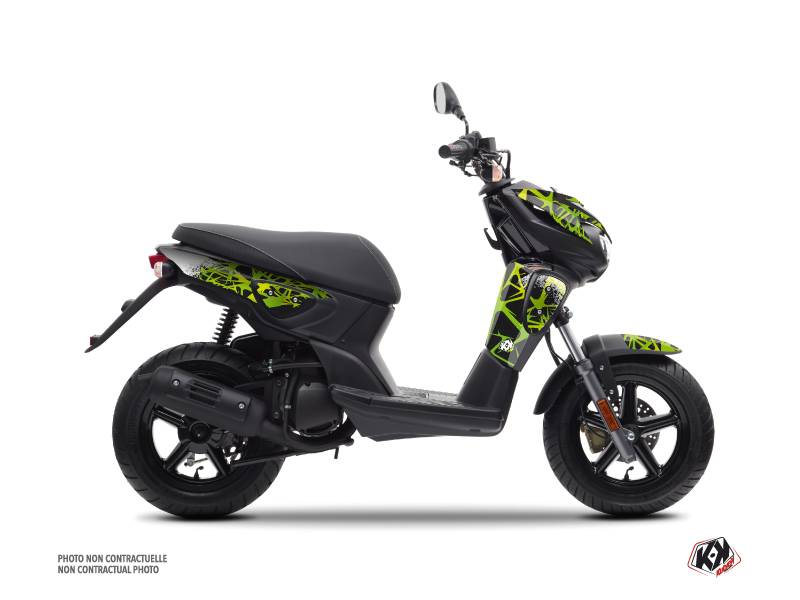 MBK Stunt Scooter Cosmic Graphic Kit Green