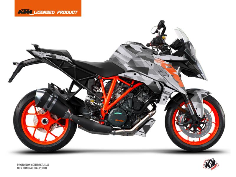 Kit Déco Moto Delta KTM Super Duke 1290 GT Gris Orange