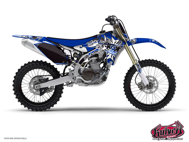 Yamaha 250 YZ Dirt Bike Demon Graphic Kit