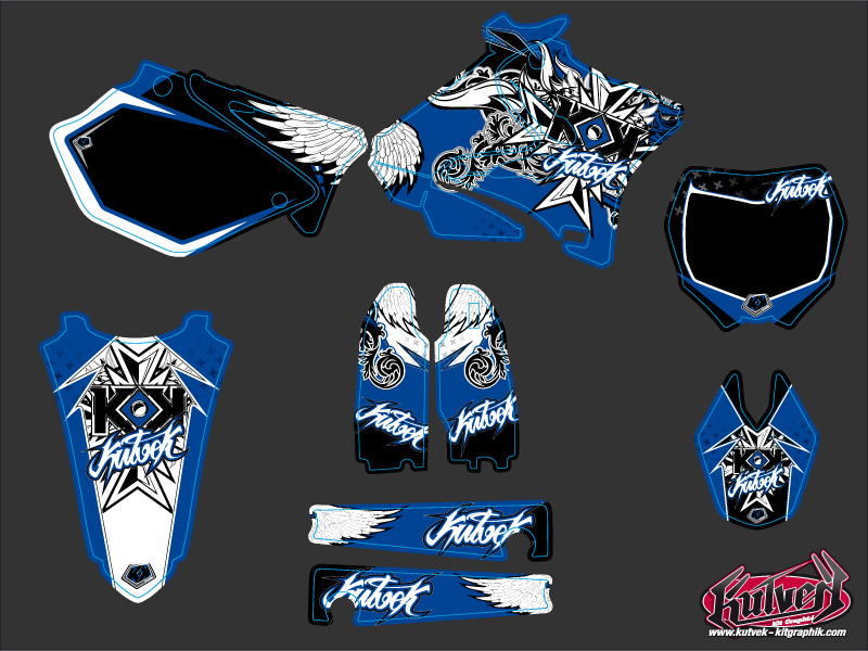 Kit Déco Moto Cross Demon Yamaha 125 YZ