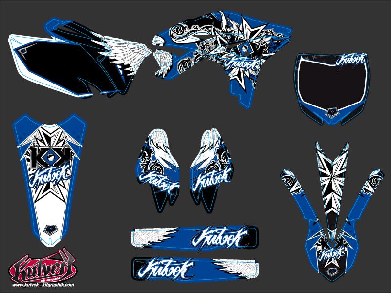 Yamaha 250 YZF Dirt Bike Demon Graphic Kit