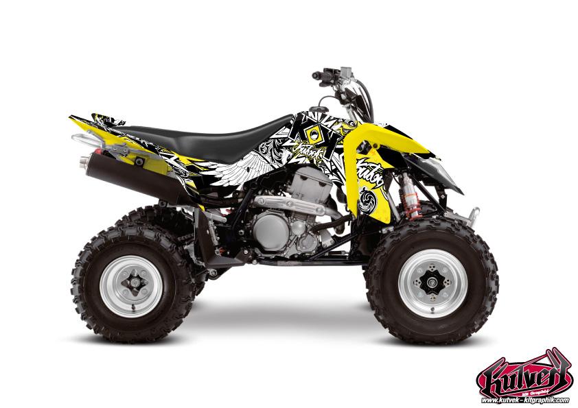 Suzuki 400 LTZ IE ATV Demon Graphic Kit