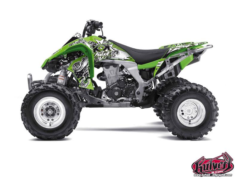 Kawasaki 450 KFX ATV Demon Graphic Kit