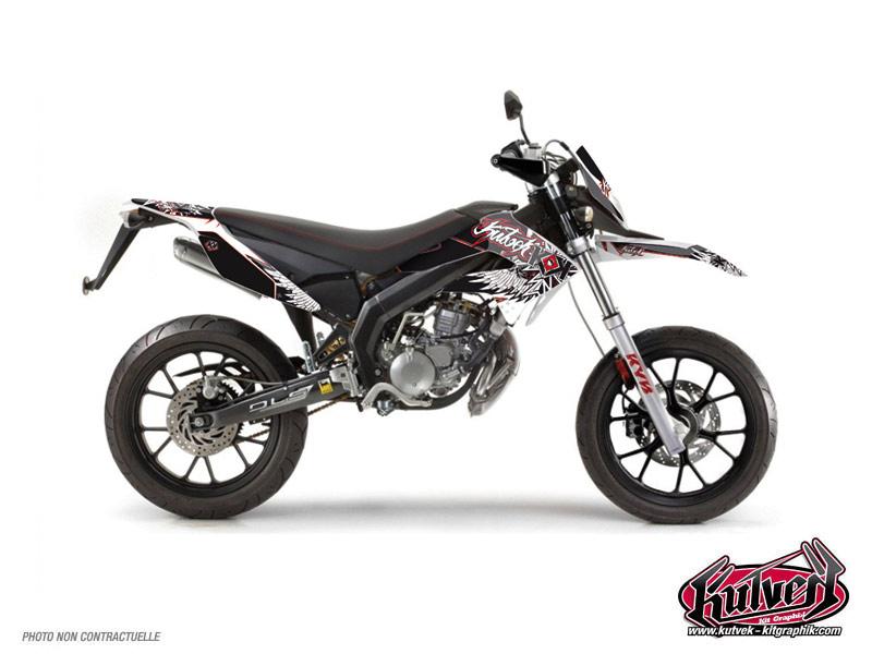 Derbi DRD Xtreme 50cc Demon Graphic Kit Red