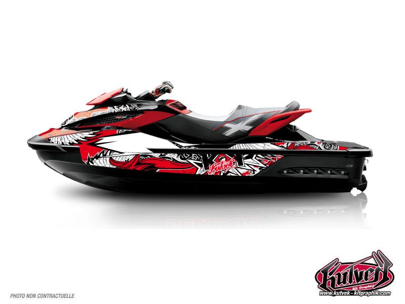 Seadoo RXT-GTX Jet-Ski Demon Graphic Kit