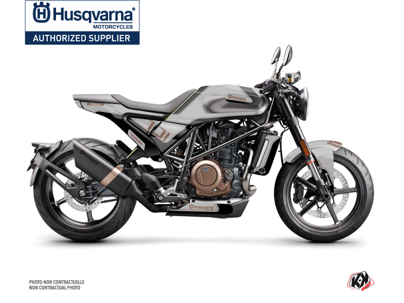 Husqvarna Vitpilen 701 Street Bike Dusk Graphic Kit Grey Black