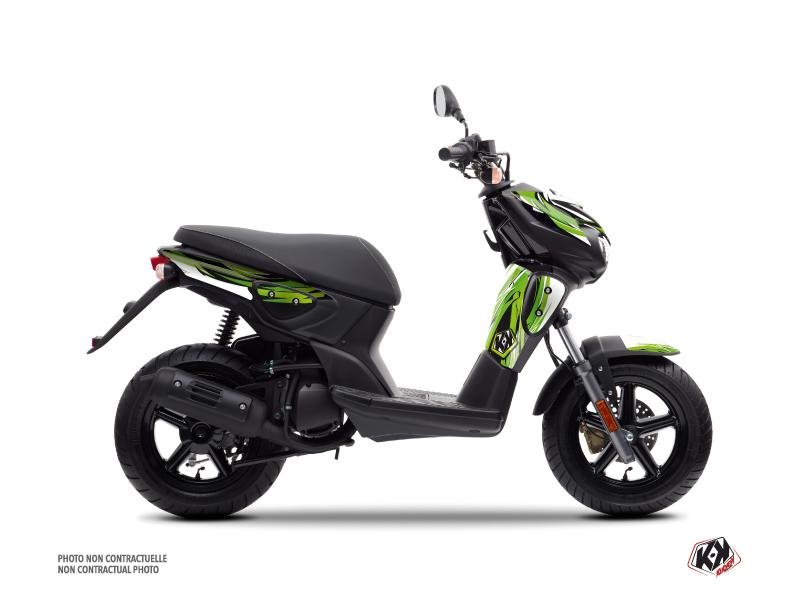 Yamaha Slider Scooter Electro Graphic Kit Green