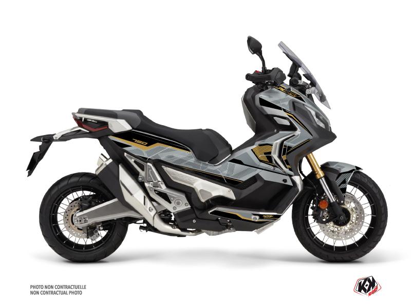 Honda X-ADV Maxiscooter Energy Graphic Kit Grey