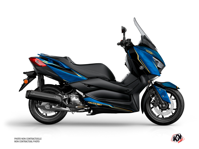 Yamaha XMAX 125 Maxiscooter Energy Graphic Blue Black