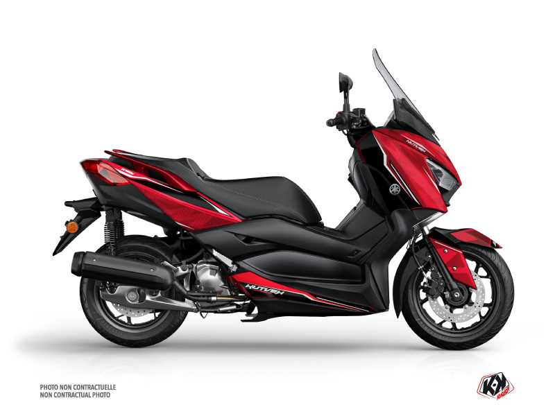 Yamaha XMAX 125 Maxiscooter Energy Graphic Kit Red
