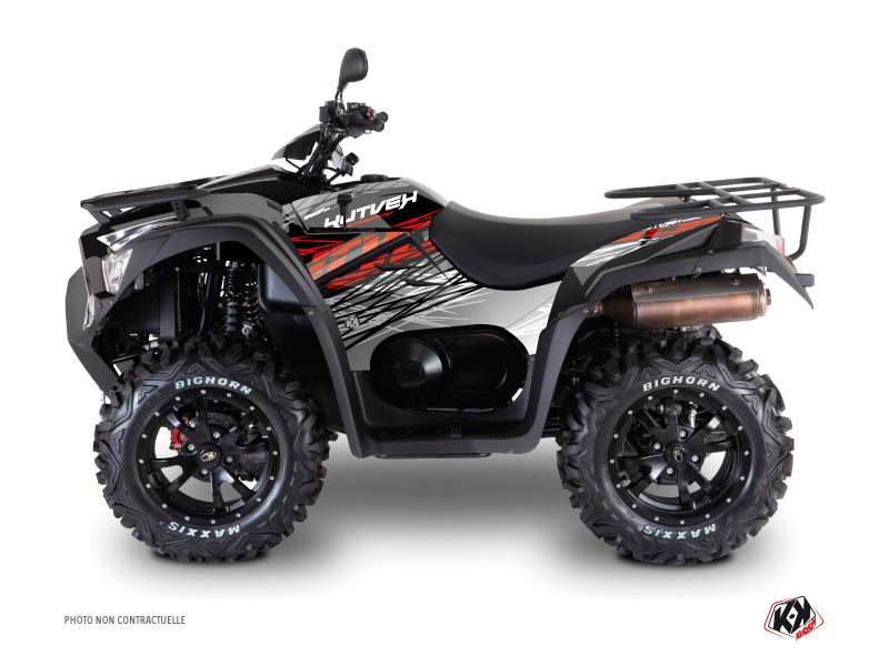 Kymco 700 MXU ATV Eraser Graphic Kit Grey