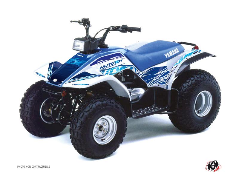 Yamaha Breeze ATV Eraser Graphic Kit Blue