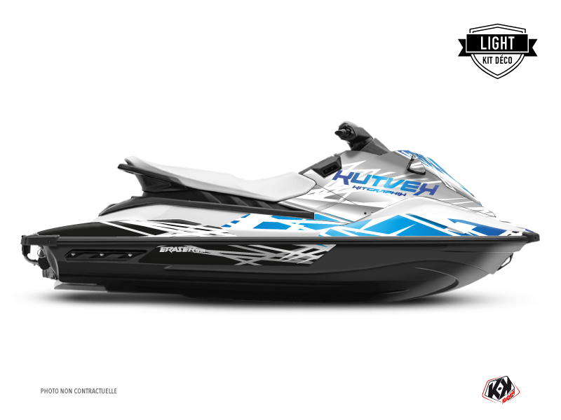 Yamaha EX Jet-Ski Eraser Graphic Kit White Blue LIGHT