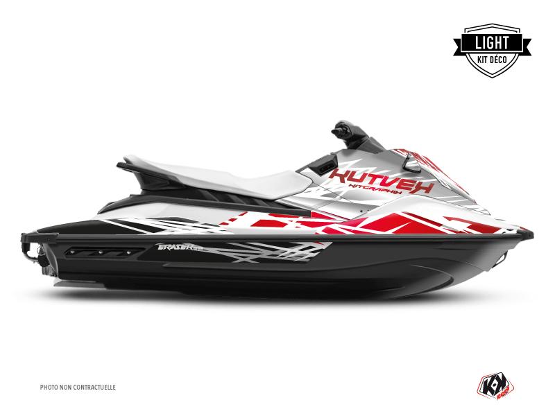 Yamaha EX Jet-Ski Eraser Graphic Kit White Red LIGHT