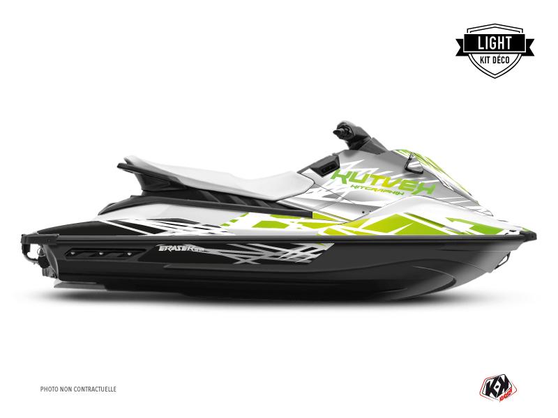 Yamaha EX Jet-Ski Eraser Graphic Kit White Green LIGHT